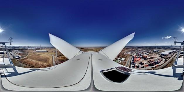 Tour auf Windenergieanlage