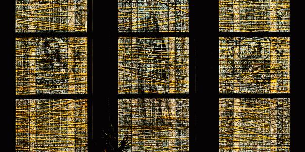 Rathausfenster in Leer